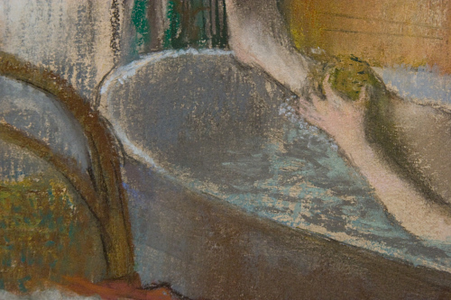 Degas - Woman in her bath (Detail)