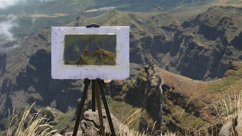 Plein Air am Pico do Aieiro (II)