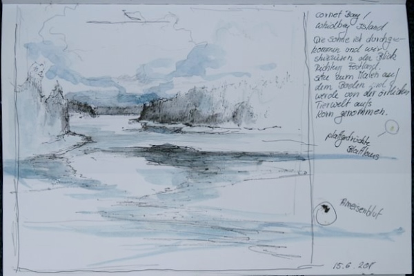 Whidbey Island Skizze