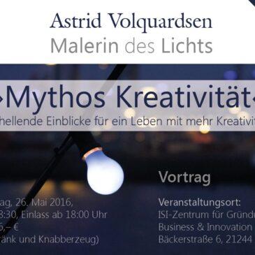 Vortrag: Mythos Kreativität am 26. Mai in Buchholz
