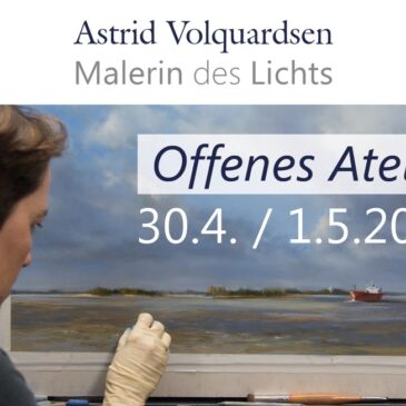 Offenes Atelier am 30.4 und 1.5.2016