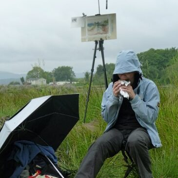 The three Ps of Plein Air Painting
