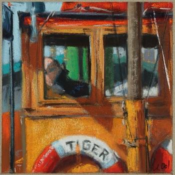 Tug steam boat »Tiger«