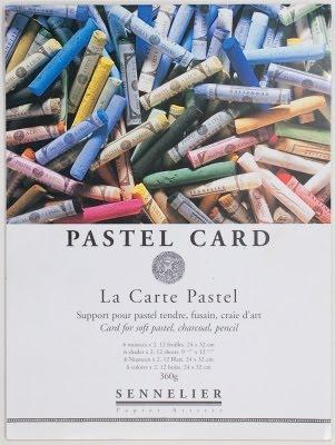 Malgrund: Sennelier Pastel Card