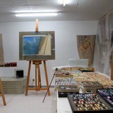My studio – Mein Atelier