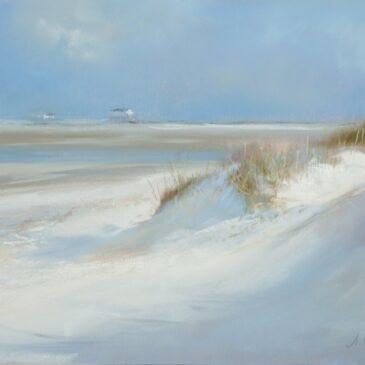 Weißer Sand (II) – Wandgestaltung