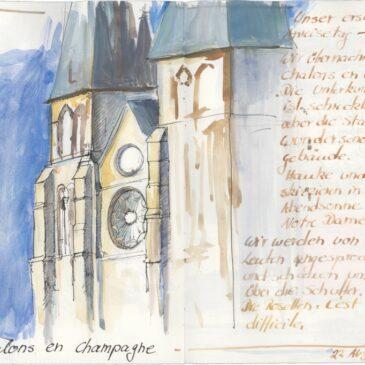 Sketch: Notre Dame en Vaux