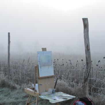 Plein Air: Nebel