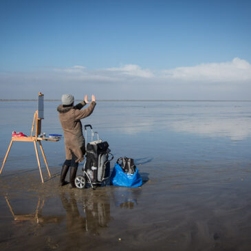St. Peter-Ording: Plein Air im Februar