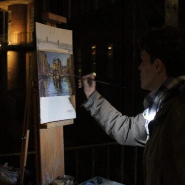 Plein Air Nocturne: Hamburgs new Wolrd heritage site