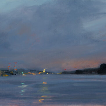 Plein Air Nocturne: View to Wedel