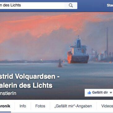 Malerin des Lichts: Jetzt auch auf facebook