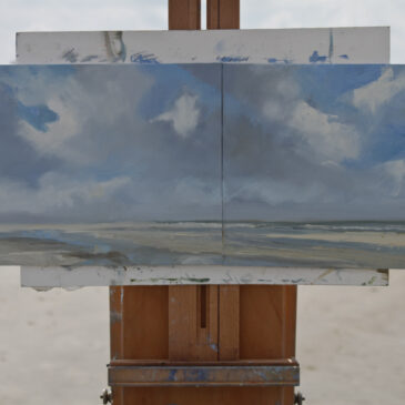 Plein Air in St. Peter Ording: Cloudscape