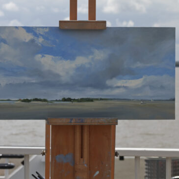 Plein Air: View from Op'n Bulln