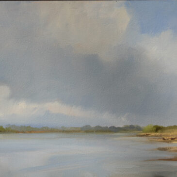 Plein Air: Clouds at Fliegenberg